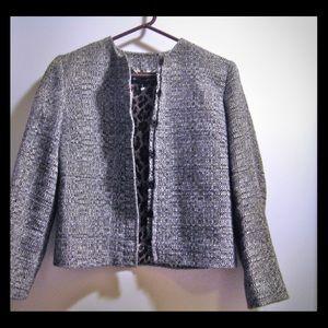 Dolce & Gabbana Alpaca Snap Placket Front Jacket